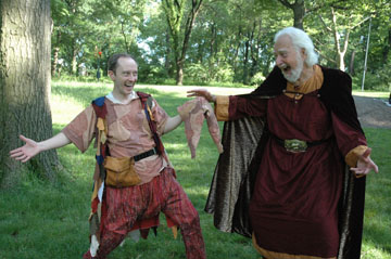King Lear at New York Classical Theatre, Central Park