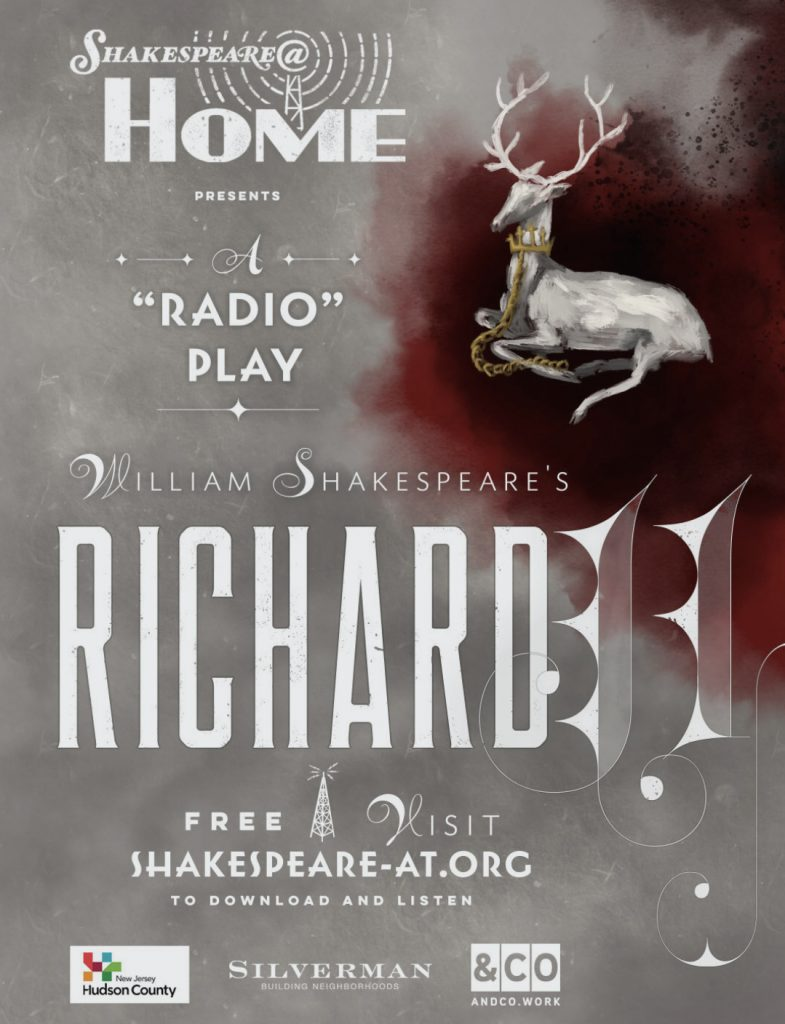 Poster for the Shakespeare@ production of Richard II